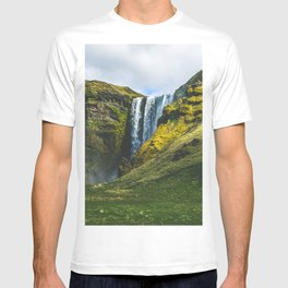 Subtle Skogafoss T-shirt