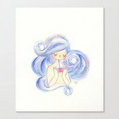 the sea and her treasure Canvas Print