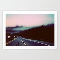 Comin' around the Mountain Art Print