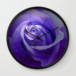 Heavenly Rose Wall Clock