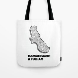 Hammersmith & Fulham - London Borough - Simple Tote Bag