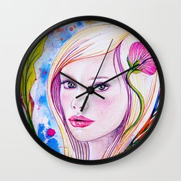 Blondie Wall Clock