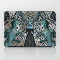 tim burton iPad Cases featuring Tim Burton by Sofia Perina-Miller