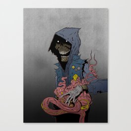 Quantum Ritual Canvas Print