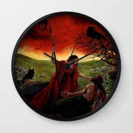 The Morrigan Wall Clock