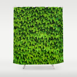 Greenery Luck (Color) Shower Curtain