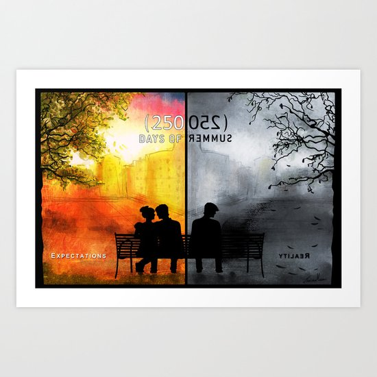 250/250 Days of Summer.... Art Print