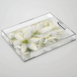 The Magic of Flowers Acrylic Tray