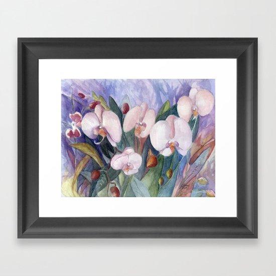 Orchid Fantasy Framed Art Print