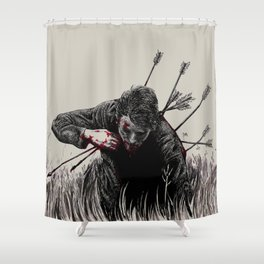 alt-j hunger of the pine Shower Curtain