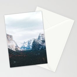 Tunnel View - Yosemite Valley, California Stationery Cards
