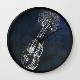 Music is Our Vacation Wall Clock