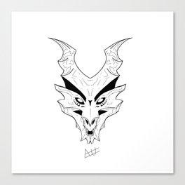 Wyvern Dragon Canvas Print