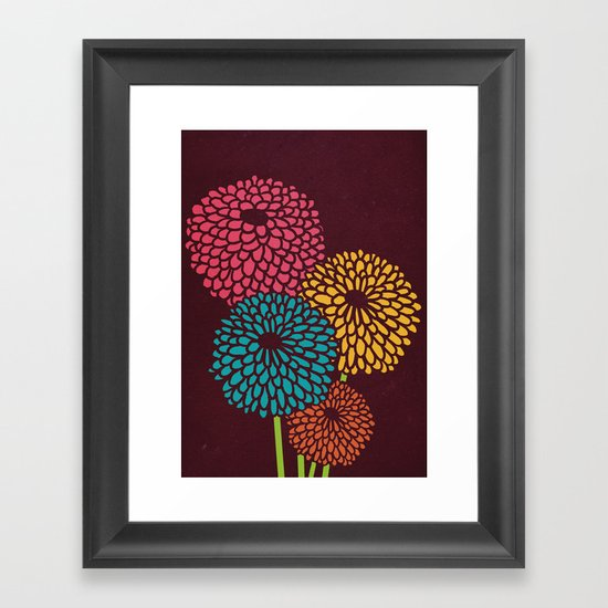 Still Life Chrysanthemum Framed Art Print