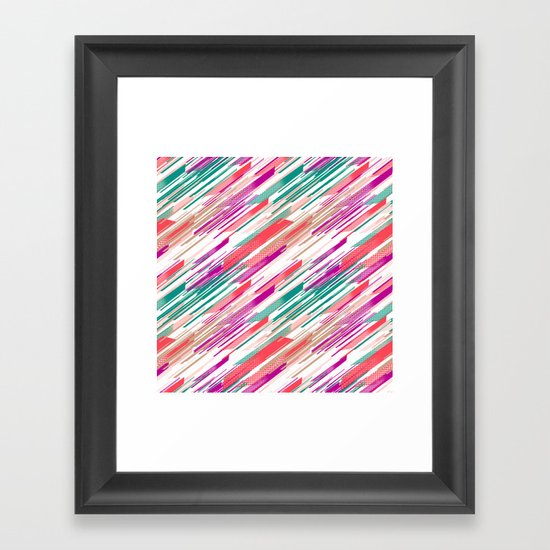 Retro 2 Framed Art Print