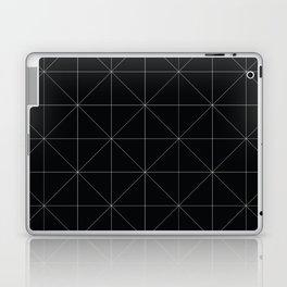 Geometric black and white Laptop & iPad Skin