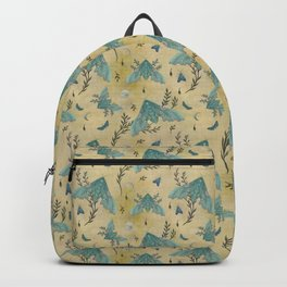 Luna and Moth - Oriental Vintage Backpack