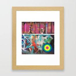 portals of hope melbourne Framed Art Print