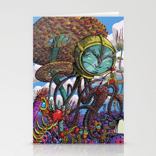 Otherworldly Ecologist Stationery Cards