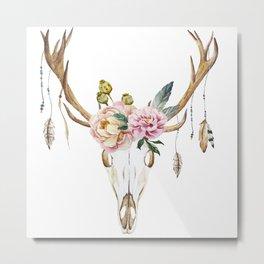 Animal Skull 09 Metal Print