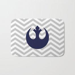 Rebel Alliance Chevrons Dark Blue Bath Mat