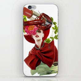 Red Obsession iPhone Skin