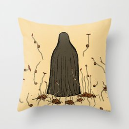 Lentil sprouts Throw Pillow