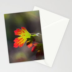 Autumn Leaf Stationery Cards