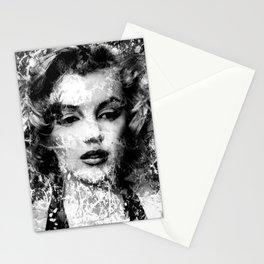 MONROE (BLACK & WHITE VERSION) Stationery Cards