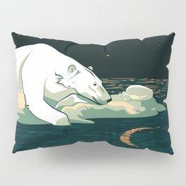 Polar Bear and the Moon Pillow Sham