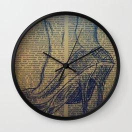 High Heels Wall Clock