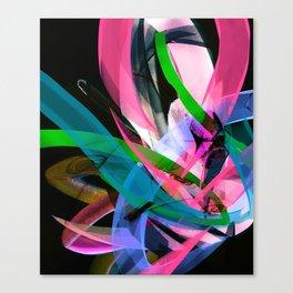 Flow Back Canvas Print