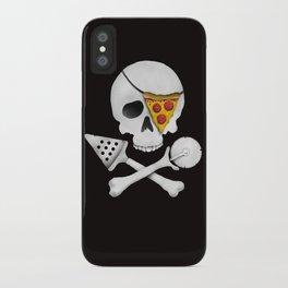 Pizza Raider iPhone Case