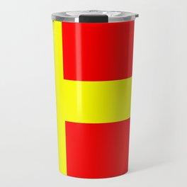 Swedish speaking Finns flag Travel Mug