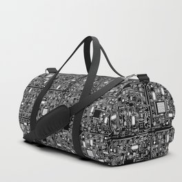 Serious Circuitry Duffle Bag
