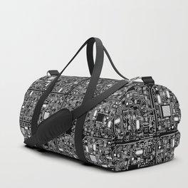 Serious Circuitry Duffle Bag
