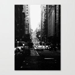 San Francisco Street - SF 082 Canvas Print