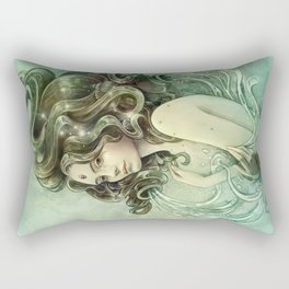Zodiac Aquarius Rectangular Pillow