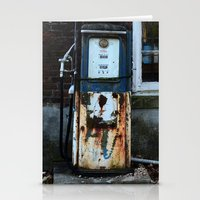 pocket fuel Stationery Cards featuring Fuel by 100 Watt Photography