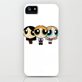 shocks and claws and banshee screams iPhone Case