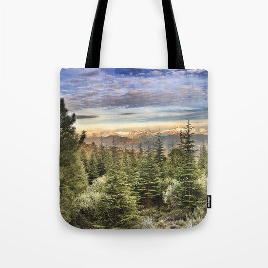 """Wildderness"". Adventure at the mountains... Tote Bag"