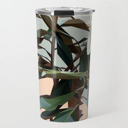 Polygonal Botanicals - Part I Magnolia. Travel Mug
