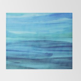 Cerulean Sea Throw Blanket