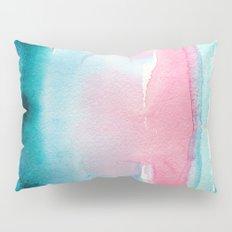 Turquoise love Pillow Sham