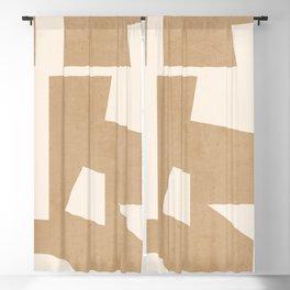 Minimal Abstract Art 30 Blackout Curtain