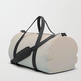 HALF MOON - Minimal Plain Soft Mood Color Blend Prints Duffle Bag