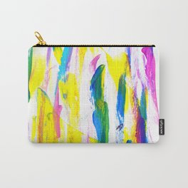 Paint Smears Colorful Abstract Carry-All Pouch