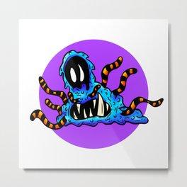 Squeebs and Slime Monsters - Tentacle Jarrod Metal Print