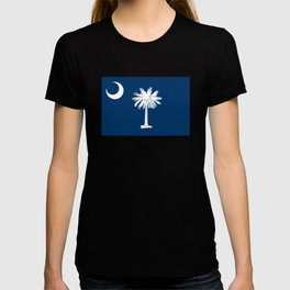 State flag of South Carolina - Authentic version T-shirt