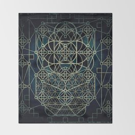 Quantum Conexion Throw Blanket